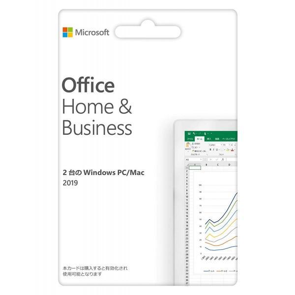 Microsoft Office Home & Business 2019(最新 永続版) カード版 Windows10/mac対応 PC2台