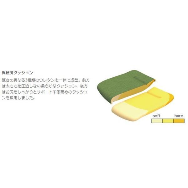 オカムラ モードチェア ミドルバック 5本脚タイプ 樹脂フレーム ホワイトボディ デザインアーム(樹脂) 背・座ミックス セージ office-kagu-tops 12