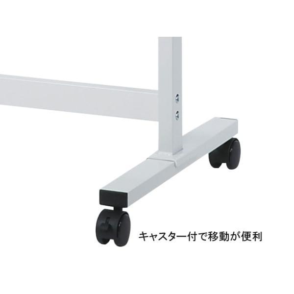 ハンガーラック コートハンガー スチールパイプ H1600xW600 キャスター付 SFK600|office-t|06