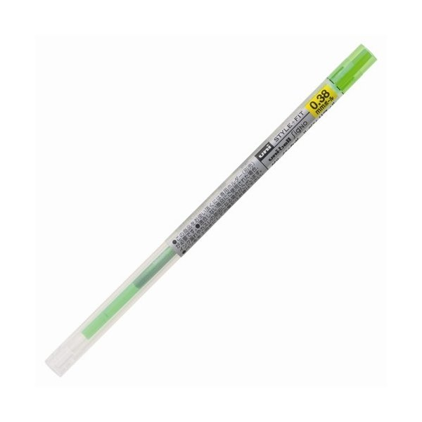 ゲルインクボールペン リフィル [ライムグリーン] 0.5mm UMR-109-05