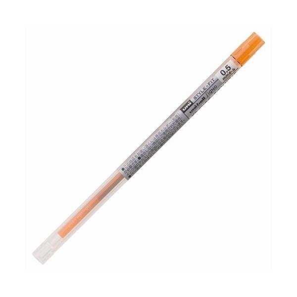 ゲルインクボールペン リフィル [オレンジ] 0.5mm UMR-109-05