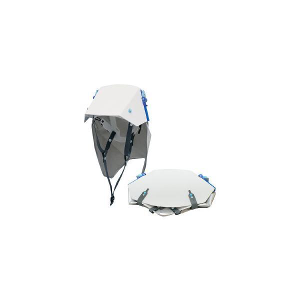 たためるヘルメット タタメット ズキン3 ヘルメット+防災頭巾 プレーンタイプ
