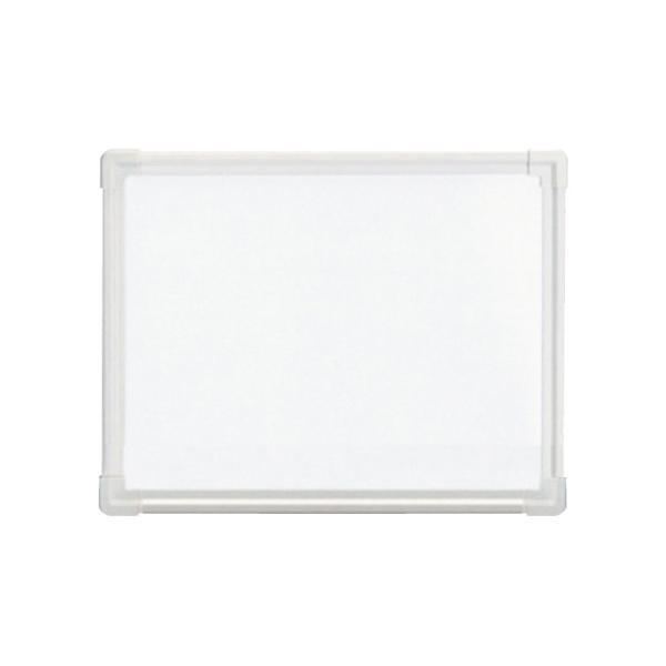 PLUS(プラス) ホワイトボード LB2 壁掛け ニッケルホーロー製 無地 600×450mm LB2-130SHW