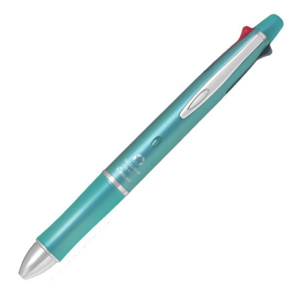 ドクターグリップ4+1 油性ボールペン 0.5mm 極細 BKHDF1SEF-MG [ミントグリーン]