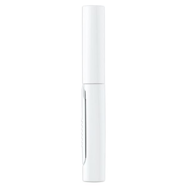 プラス(PLUS) 携帯はさみ フィットカットカーブ ツイッギー ポーチサイズ フッ素コート ホワイト SC-100PF 35-258