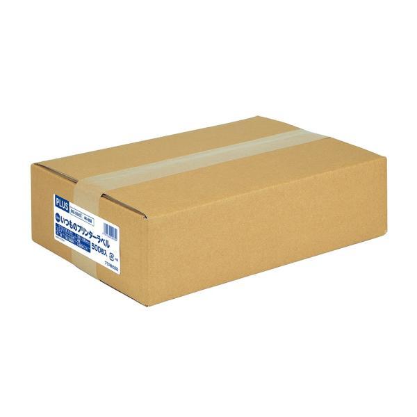 プラス(PLUS) ラベル いつものラベル 収納・案内用ラベル A4 500枚入 2×2片付 4面 ME-554S48-868