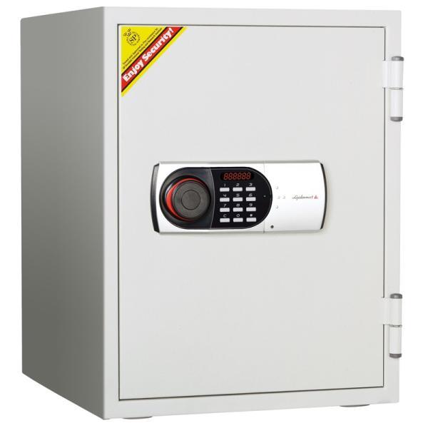 デジタルテンキー式耐火・耐水金庫 530EN88WR A4対応 HOME SAFE<家庭用耐火金庫> 1時間耐火 容量36L ディプロマット・ジャパン