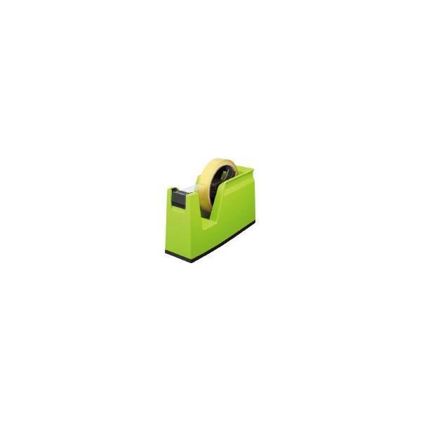 テープカッター<カルカット> グリーン 大巻き・小巻きテープ両用 T-SM100G