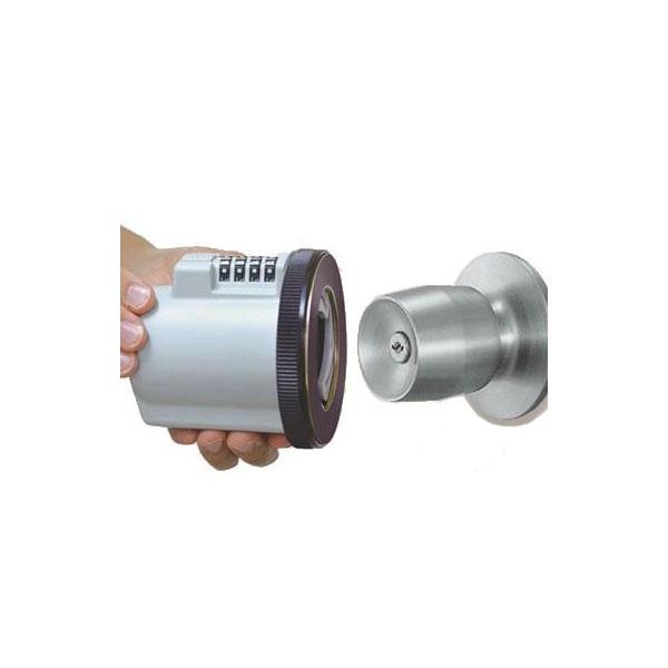 (同梱不可)ガードロック ドアノブ(握り玉)用補助錠 ノブ LOCK 620