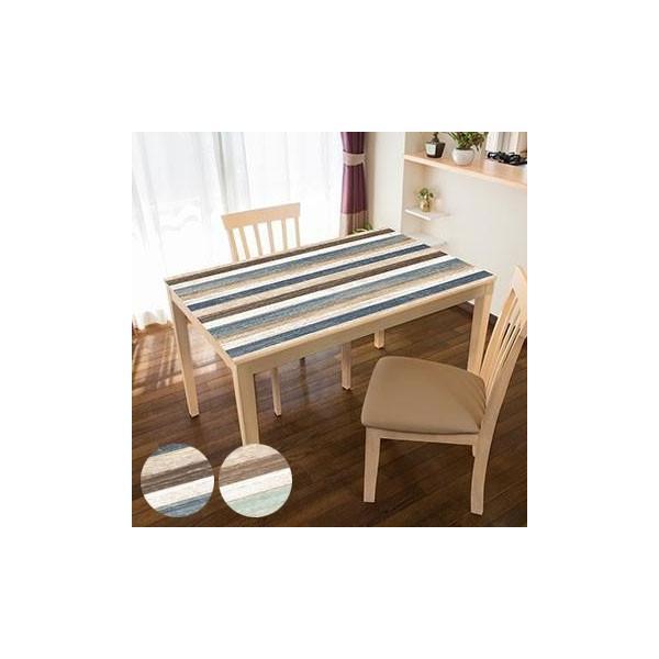 (同梱不可)TABLECLOTH DECORATION テーブルデコレーション 貼る!テーブルシート 90cm×150cm スクラップウッド