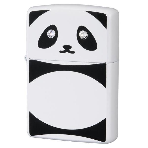 (同梱不可)ZIPPO(ジッポー) オイルライター パンダ C クリスタル 63320798 かわいい プレゼント 動物