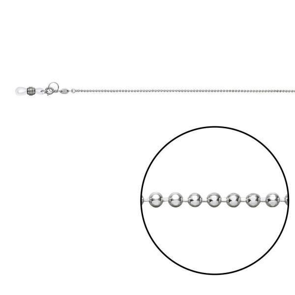 (同梱不可)メガネチェーン CW-323 カットボール φ1.5mm Z5423