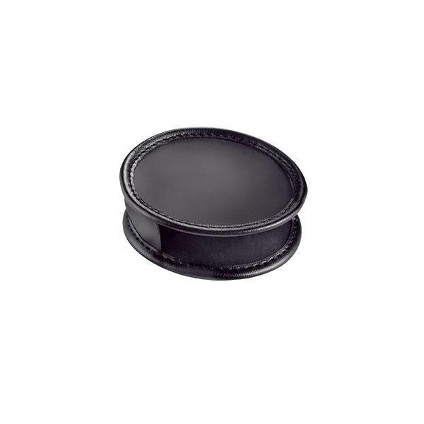 (代引不可) (同梱不可)エッシェンバッハ レンズブラックレザーケース (ブラックルーペ2655-70用) 2855-70