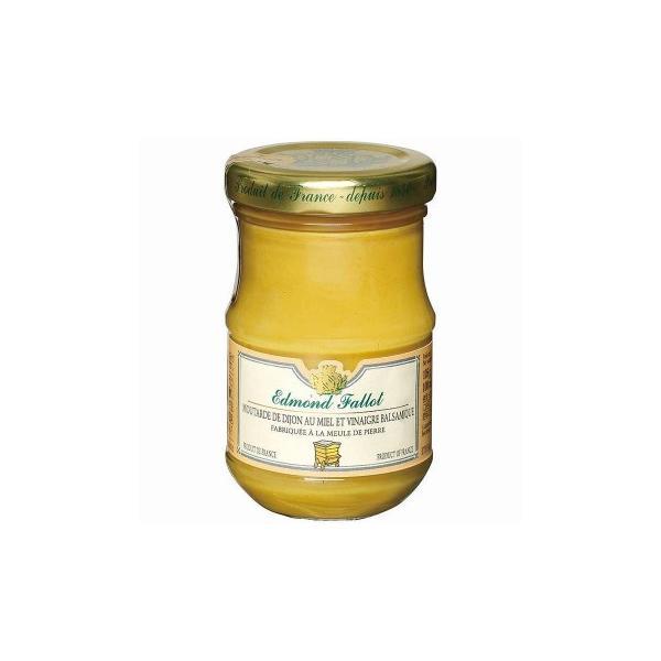 (代引不可) (同梱不可)ファロ ハチミツ&バルサミコ酢マスタード 105g 12個セット F5-09