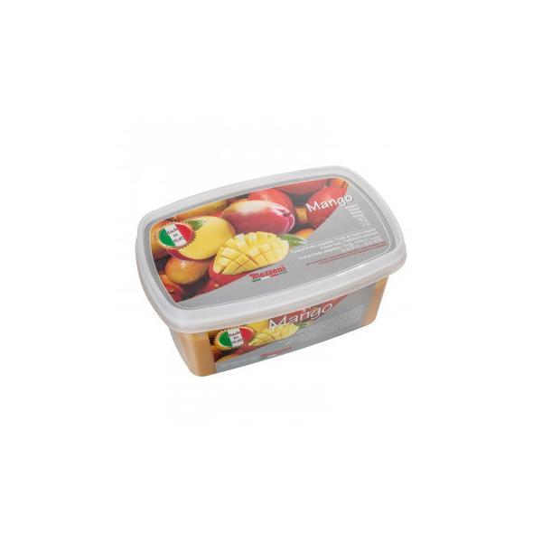 (代引不可) (同梱不可)マッツォーニ 冷凍ピューレ マンゴー 1000g 6個セット 9403