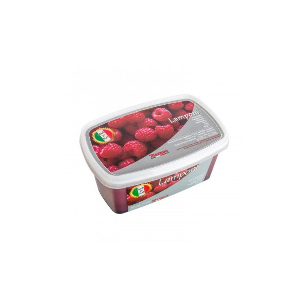 (代引不可) (同梱不可)マッツォーニ 冷凍ピューレ ラズベリー 1000g 6個セット 9409