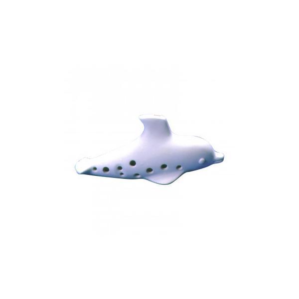 (代引不可) (同梱不可)陶製オカリナ 動物シリーズ 手づくりキット パレット付 イルカ