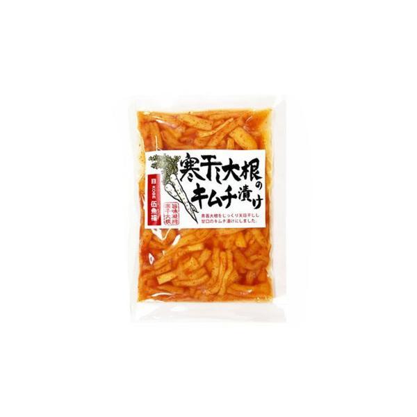(代引不可) (同梱不可)伍魚福 おつまみ 寒干し大根のキムチ漬け 150g×10入り 219170
