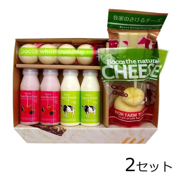 (代引不可) (同梱不可)北海道 牧家 NEW乳製品詰め合わせ1×2セット