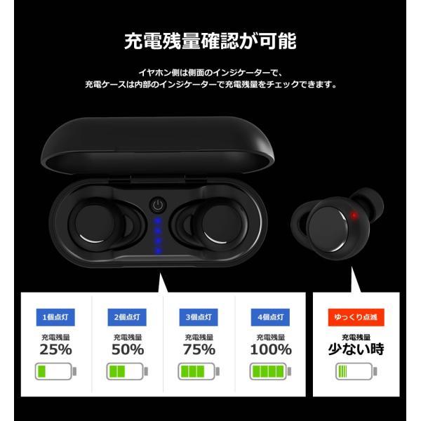 イヤホン Bluetooth 完全ワイヤレス 高音質 スポーツ 完全防水 おしゃれ イヤフォン BEA7|offinet-kagu|16