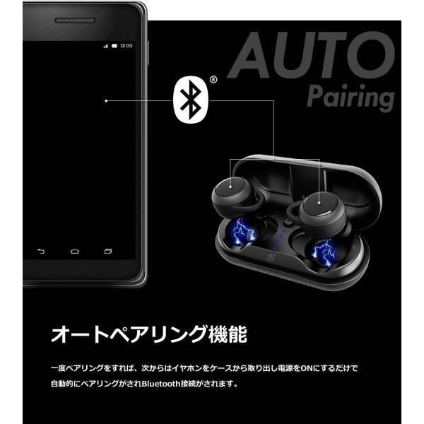 イヤホン Bluetooth 完全ワイヤレス 高音質 スポーツ 完全防水 おしゃれ イヤフォン BEA7|offinet-kagu|07