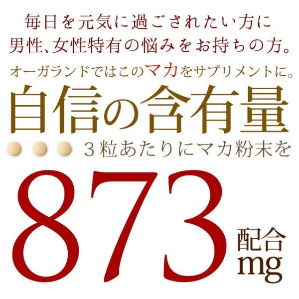 マカ サプリ 亜鉛 カルシウム サプリメント 約1ヶ月分 送料無料 お1人様2個まで|oga|03