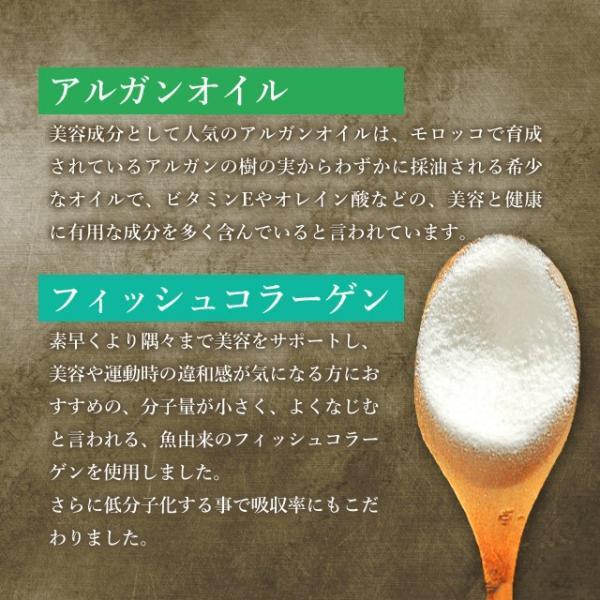サプリメント プラセンタ サプリ アルガンオイル コラーゲン エイジングケア 濃縮50倍 美容 アミノ酸 ミネラル 約1ヶ月分 送料無料|oga|14