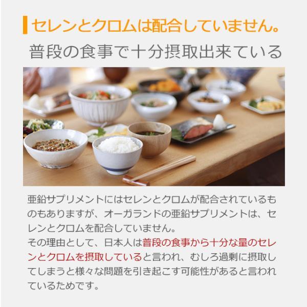 亜鉛 栄養機能食品 必須ミネラル サプリメント サプリ 男性 女性 の元気に 銅 約1ヶ月分 送料無料_ZRB|oga|07