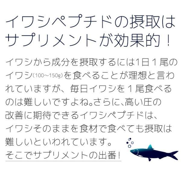 イワシ DHA EPA ペプチド 青魚 アミノ酸 カルシウム ミネラル 健康 いわし缶 よりお手軽 サプリ サプリメント 約3ヶ月分_ZRB|oga|12