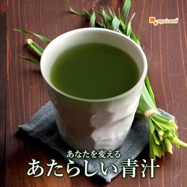 オーガランドの濃い青汁 大麦若葉 食物繊維 難消化性 デキストリン クロロフィル カテキン 30包|oga