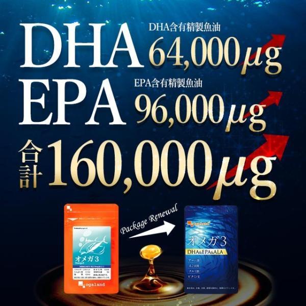 サプリ オメガ3 EPA 送料無料 サプリメント 今だけ増量中 オメガ3脂肪酸 DHA αリノレン酸 約4ヶ月分|oga|09