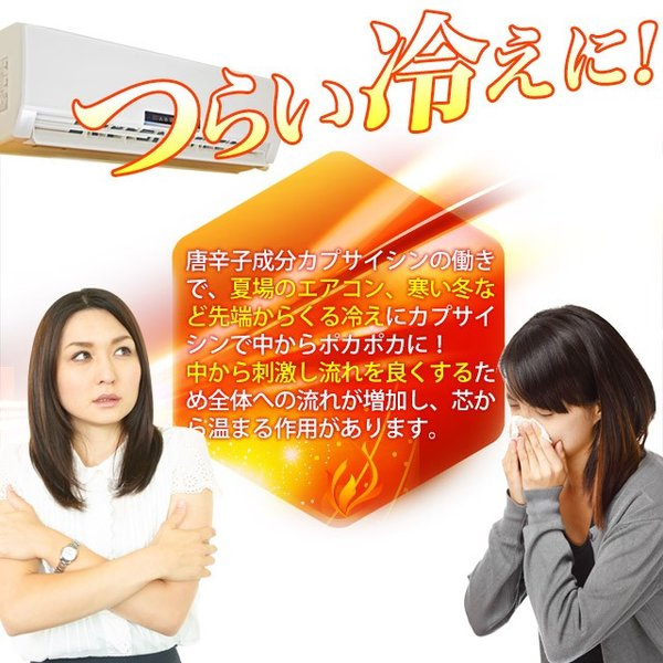カプサイシン (唐辛子とうがらし) 燃焼 ダイエット プーアール茶末・ウーロン茶末・黒コショウ抽出物も配合! サプリメント 約6ヶ月分|oga|05
