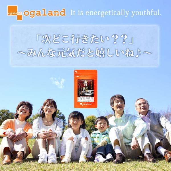 香酢 サプリメント アミノ酸 サプリもろみ 健康酢 約1ヶ月分 送料無料|oga|02