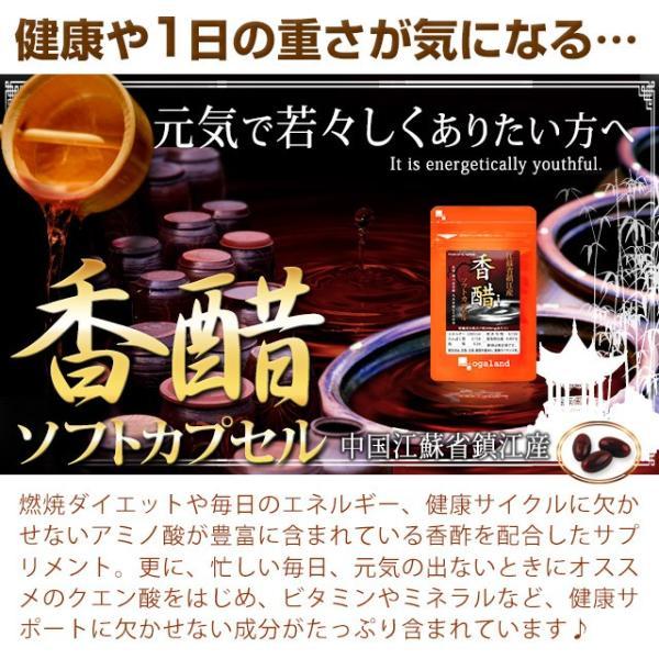 香酢 サプリメント アミノ酸 サプリもろみ 健康酢 約1ヶ月分 送料無料|oga|05
