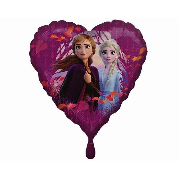 キャラクターバルーン風船アナと雪の女王2 ハート型10枚入
