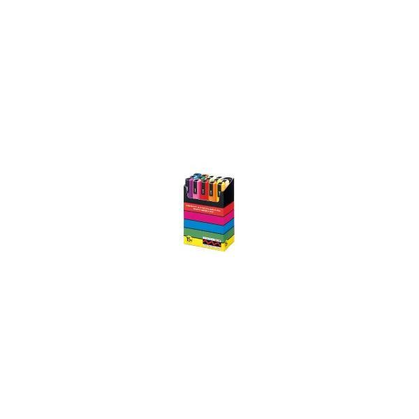 三菱鉛筆 POSCA ポスカ 中字丸芯/15色セット  PC-5M15C