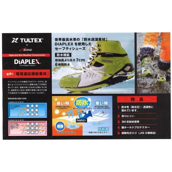 ミドルカット安全靴 スニーカー タイプ メッシュ 世界最高水準の防水素材 ムレにくい|ogawamata