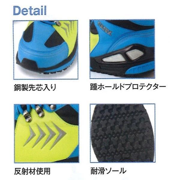 ミドルカット安全靴 スニーカー タイプ メッシュ 世界最高水準の防水素材 ムレにくい|ogawamata|04