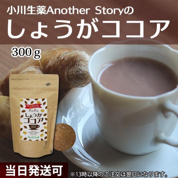 小川生薬AnotherStory しょうがココア(生姜ココア) 300g