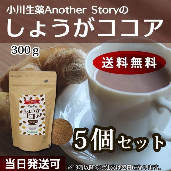 小川生薬AnotherStory しょうがココア(生姜ココア) 300g 5個セット