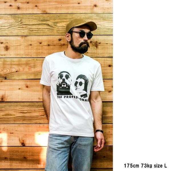 LEON「レオン」「THE PROFESSIONAL」「LEON & MATHILDA」映画 Tシャツ|oguoy|08