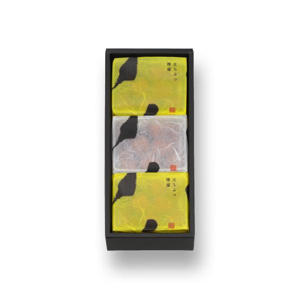 【季節限定】鈴カステラ 3袋箱(プレーン1袋・はちみつ檸檬2袋:各1袋15個)(係数7)
