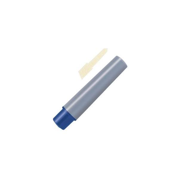 (まとめ) ゼブラ 油性マーカー ハイマッキーケア つめ替え用インクカートリッジセット 青 インク+太字替芯各1本 RYYT5-BL 1セット 〔×50セット〕