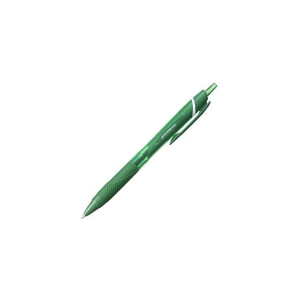 (まとめ) 三菱鉛筆 油性ボールペン ジェットストリーム カラーインク 0.7mm 緑 SXN150C07.6 1本 〔×40セット〕
