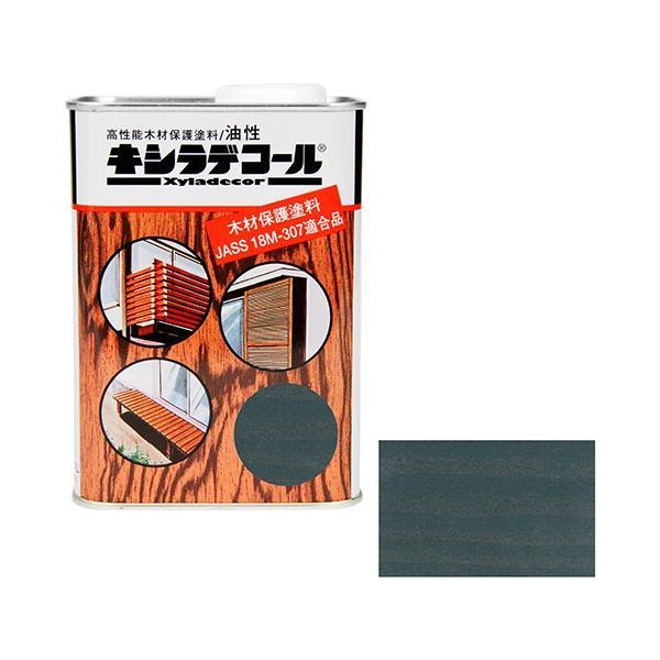 ウッドデッキ 防腐剤 木部の下塗り 色ムラ防止 大阪ガスケミカル・キシラデコール 0.7L ・109シルバグレイ