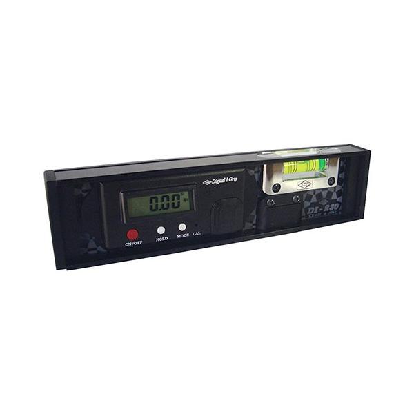 水平器 デジタル水平器 230mm (高精度表示/勾配計 水準器 レベル)