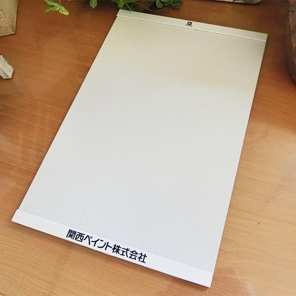 アレスシックイ内部用 塗り板見本 日塗工調色品 A4サイズ 関西ペイント/漆喰塗料/内装用/水性/国産/ローラー塗り