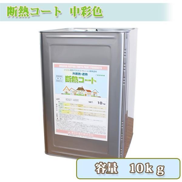 断熱コート 中彩色 10kg 約6〜8平米/2回塗り 送料無料