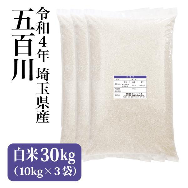 新米 令和3年 30kg 2021 米 お米 五百川 まとめ買い 業務用米 安い 埼玉県産 離島不可