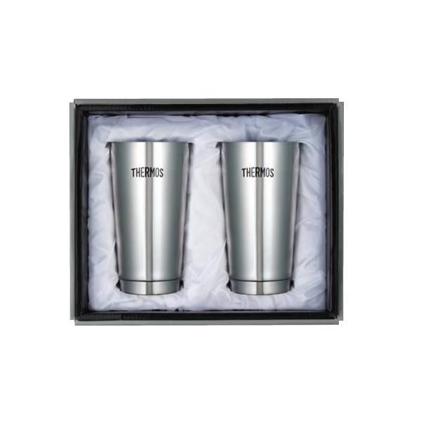 保温 コップ マグ お酒 ビールグラス ティー コーヒー 保冷 マグカップ お茶 THERMOS サーモス 真空断熱タンブラー 2Pセット JMO-GP2 同梱・代引不可
